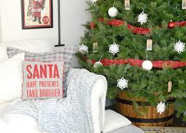 our christmas family room farmhouse holiday series beneath