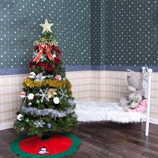 infant shining tree 1 5m 5feet with decorations
