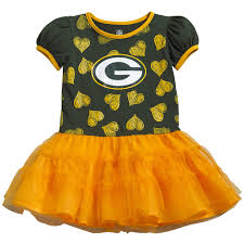 green bay packers toddler girls love to dance tutu dress at the