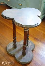 vintage clover leaf table makeover robb restyle