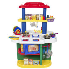 Play Kitchen Ideas Simple Kitchen Ideas With Colorful Toddler Kitchen Cabinet Set