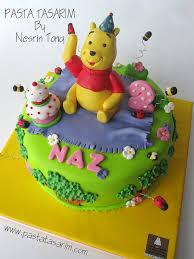 winnie the pooh naz 2nd birthday cake