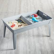 sand and water table for kids the land of nod