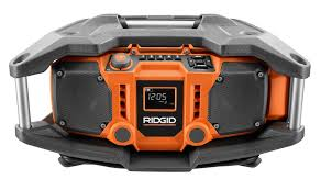 Rugged Boombox Rock Out Worry Free With A Nigh Indestructable Jobsite Sound System