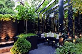 Interior Landscape Modern Landscape Architecture In The Garden U2013 Two Exotic Urban
