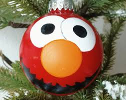 elmo ornament etsy