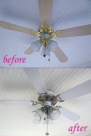 how to paint a ceiling fan 6 dollar ceiling fan update ceiling fan spray painting and ceilings