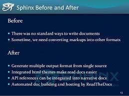 html themes sphinx sphinx autodoc automated api documentation europython 2015 in bil