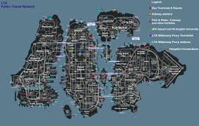 Mta Queens Bus Map Grand Theft Auto 4 Mta Metropolitan Transportation Authority