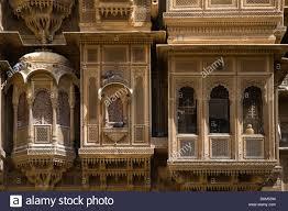 clerestory windows and balcony of the patwon patwa ki haveli