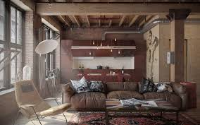 industrial apartments industrial influence abound in urban masculine apartment by nordes
