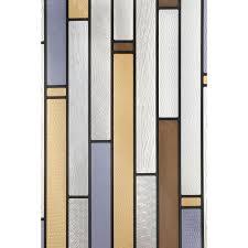 artscape 12 in x 83 in modera sidelight decorative window film