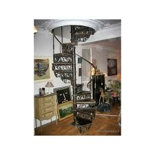 Fer Forge Stairs Design Wrought Iron Staircase With Wooden Harmonie Du Logis
