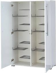 inside contemporary 2 door high gloss white shoe cabinet by germania