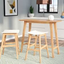 Mid Century Bistro Table Mid Century Modern Pub Tables Bistro Sets You Ll Wayfair