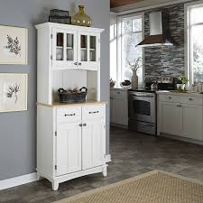 kitchen classy white country hutch dining room buffet white