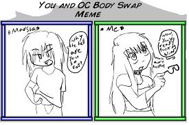 Body Meme - oc body swap meme by yearofthestar on deviantart