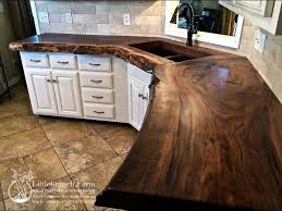 imgur post imgur clever kitchens pinterest kitchens pure walnut slab countertop i am in love with live edge and the natural character of slabs