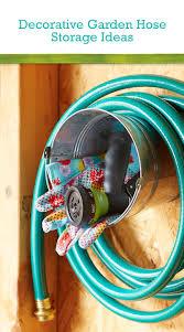 garden hose storage ideas home outdoor decoration