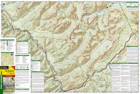 Map Of Glacier National Park Two Medicine Glacier National Park Trails Illustrated Map 315