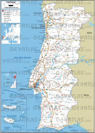 Azores Map Geoatlas Countries Portugal Map City Illustrator Fully