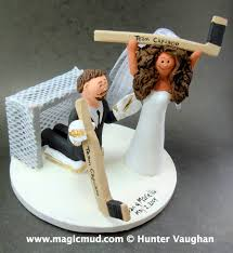 hockey cake toppers wedding ideas remarkable hockey wedding cake topper hockey