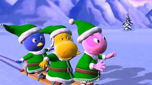 the backyardigans action elves look out for the abominable
