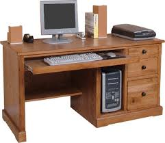 Oak Computer Desk With Hutch by Rustic Oak U0026 Slate Collection Rustic Oakcomputer Desk W Hutch