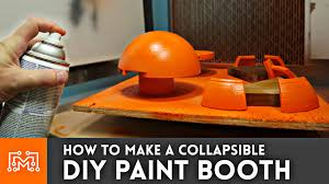building a photo booth cabinet how to make a diy paint booth youtube