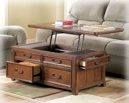 lift top trunk coffee table coffee table w lift top trunk flip up storage drawers wood cocktail