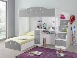 rangements bureau lit superposé combal avec rangements et bureau lit enfant
