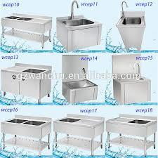 Dish Rack Cabinet Philippines Restaurant Stainless Steel Vegetable Sink Commercial Sink Kitchen