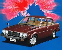toyota corolla 83 toyota corolla sedan jp spec e70 1979 83 vintage japanese
