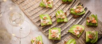 easiest canapes easy food for year s olive magazine
