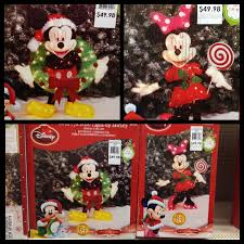 homes decorated for christmas outside dazzling mickey and minnie christmas yard decorations very