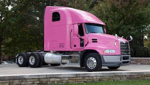 volvo trucks greensboro nc mack deploys pink truck to help raise breast cancer awareness