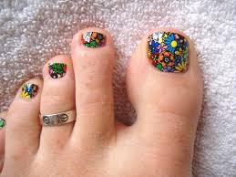 nail art for your beautiful feet u2013 nailkart com