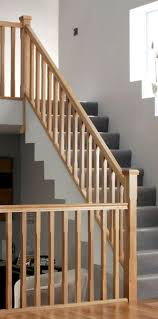 Oak Banisters White Oak Stairparts Stair Balustrading Uk Distributor