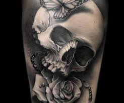 cherry skull and tattoos for photos pictures