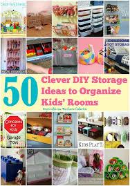 clever diy storage ideas to organize kids u0027 rooms