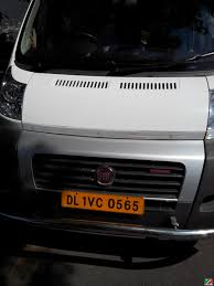 fiat ducato spotted in india photo u0027s and experience spotted in