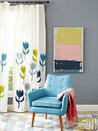 Simple Curtains For Living Room Super Simple And Stylish Tailored Valances