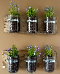 Indoor Herb Garden Kit Australia - mason jar planters planters studio and nice