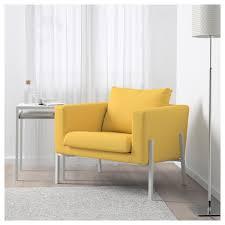koarp armchair orrsta golden yellow white ikea