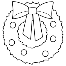 christmas wreath coloring pages regarding inspire in coloring