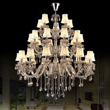 Indoor Chandeliers Chrome Chandelier With Shades Modern Led Chandelier Lights Indoor