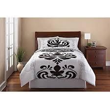 Walmart Mainstays Comforter Mainstays Luxemborg 3 Piece Reversible Bedding Comforter Set