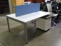 White Laminate Desk Cycon Office Systems Rental Equipment U003e Furniture U003e For Sale
