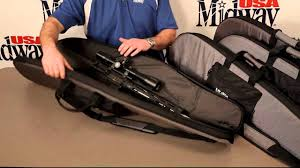 midwayusa black friday midwayusa pro series scoped rifle gun case nylon gray and black