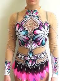 rhythmic gymnastic design by olga leotards costumes suits toronto